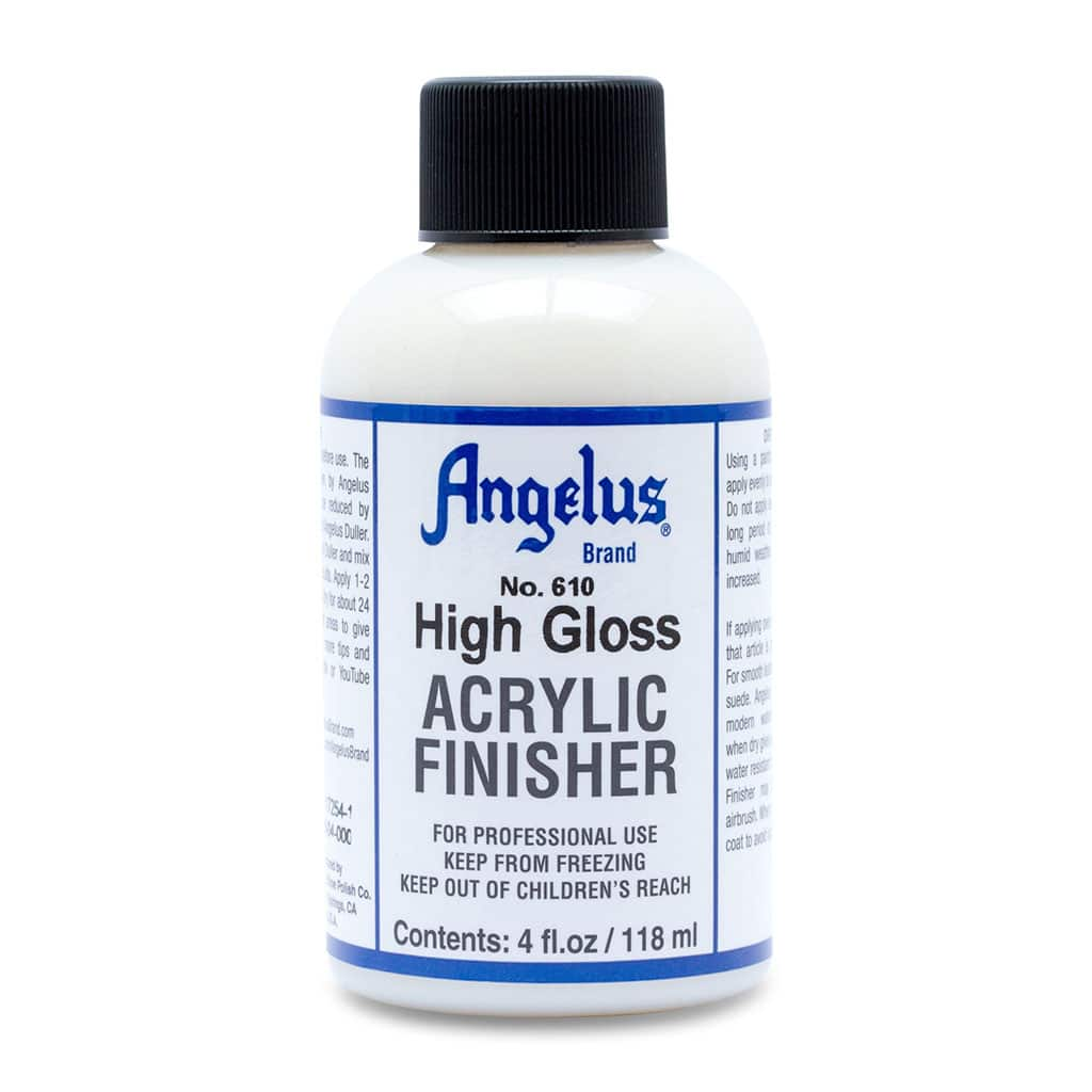 Angelus Brand - No. 610 - Acrylic Finisher - High Gloss