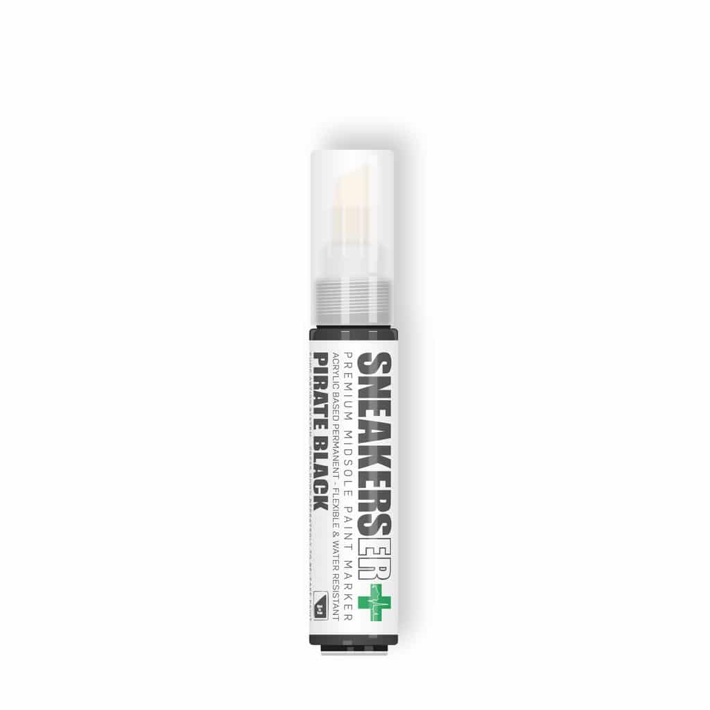 SneakersER Premium Midsole Paint Marker – 10mm Pirate Black