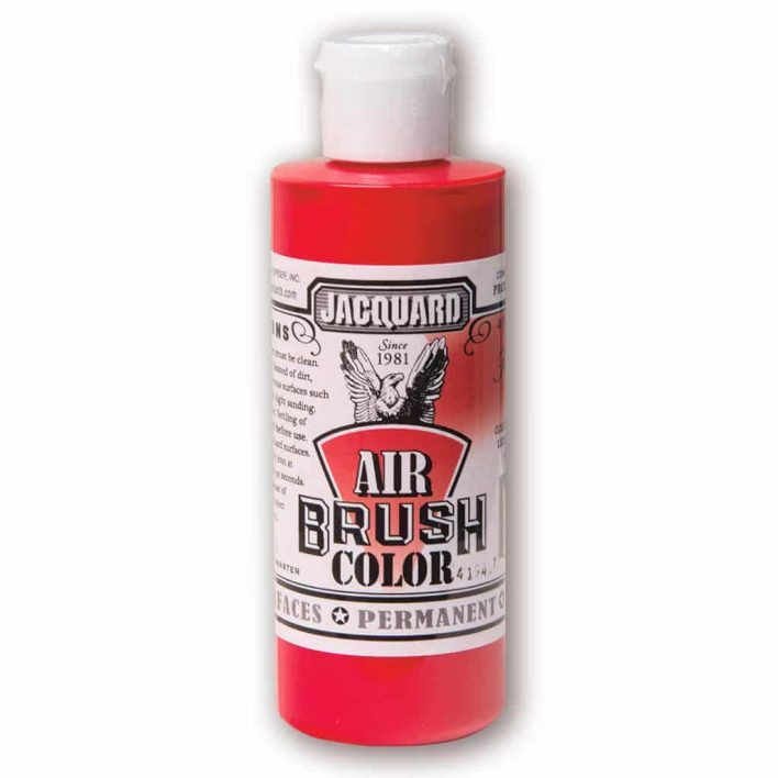 Jacquard Products - Airbrush Verf - Dekkend Rood