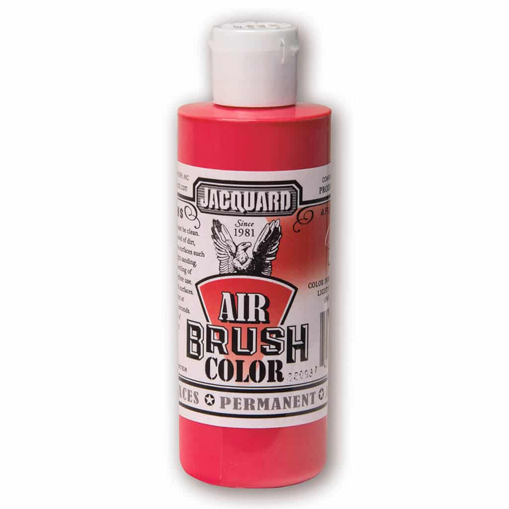 Jacquard Products - Airbrush Verf - Transparant Rood