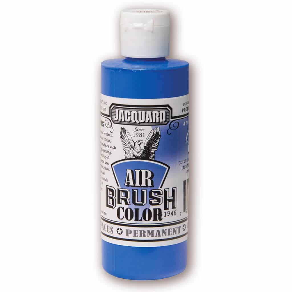 Jacquard Products - Airbrush Verf - Transparant Blauw