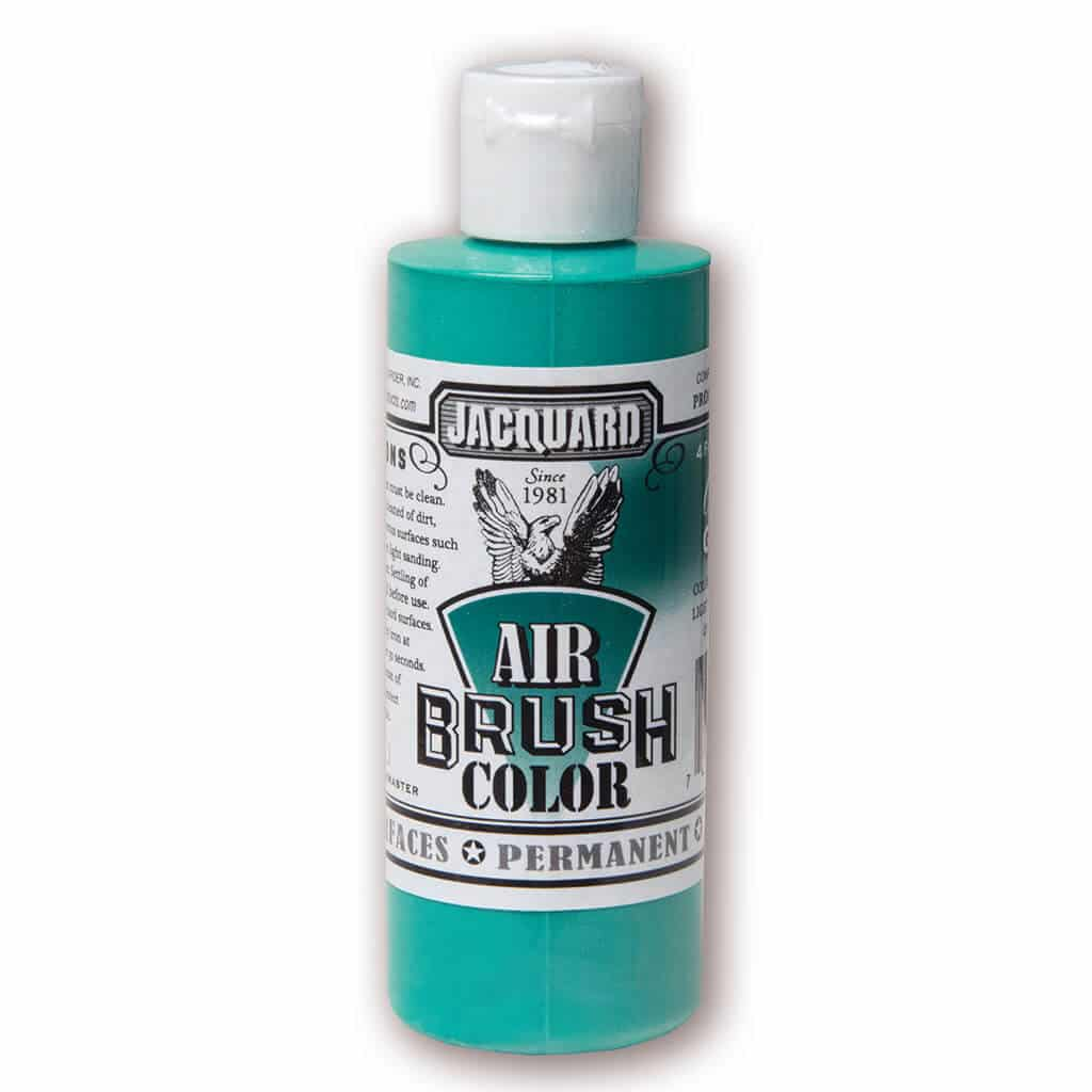 Jacquard Products - Airbrush Verf - Transparant Groen